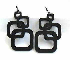 Inseparable Squares Earrings